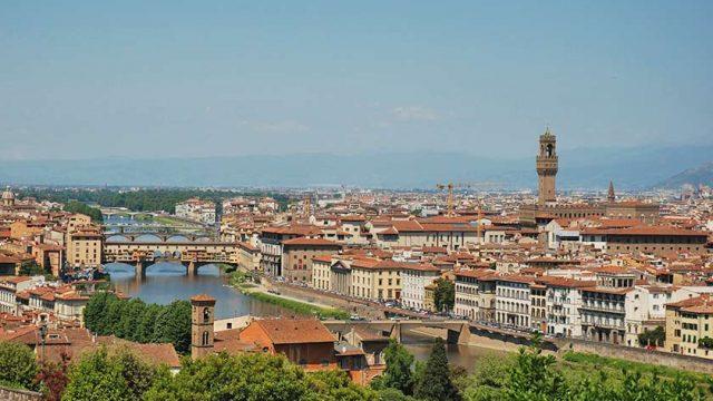 Anreise nach Florenz